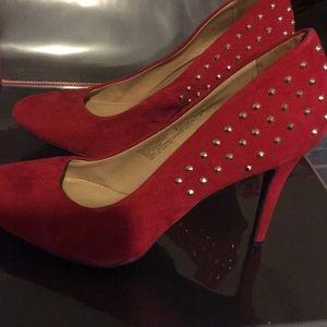 Mossimo Size 11 RedHigh Heels